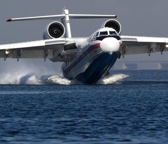 თურქეთში რუსულმა სახანძრო-სამაშველო თვითმფრინავმა კატასტროფა განიცადა