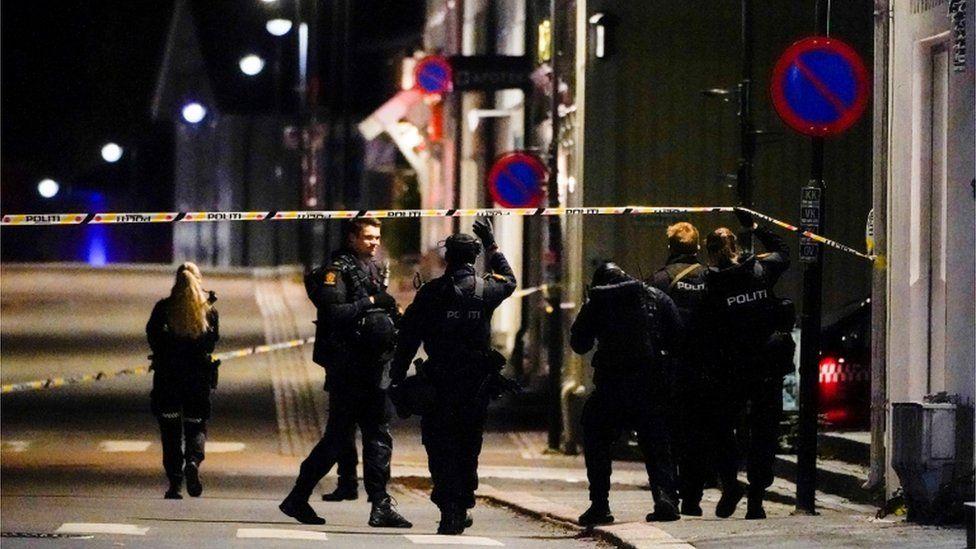BBC: ნორვეგიაში თავდამსხმელმა მშვილდისრით რამდენიმე ადამიანი მოკლა