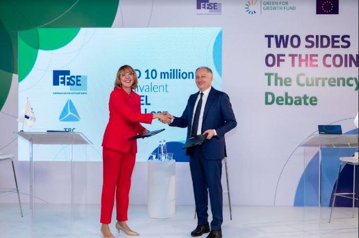 თიბისიმ EFSE-სგან 10 მლნ აშშ დოლარის ფინანური რესურსი მოიზიდა